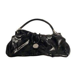 Dana Buchman Black Faux Leather Purse